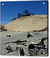 Cape Kiwanda Sand Dune Acrylic Print