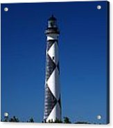 Cape Lookout In The Blue Acrylic Print