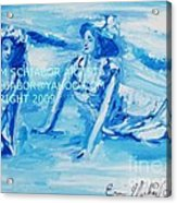 Cape May Bathing Beauty Acrylic Print