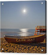 Cape May By Moonlight Acrylic Print