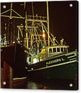 Cape May Fishing Fleet Acrylic Print