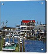 Cape May Harbor Acrylic Print