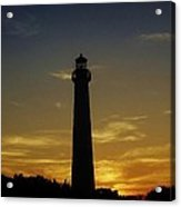 Cape May Lighthouse At Sunset Acrylic Print