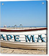 Cape May New Jersey Acrylic Print