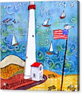 Cape May Point Lighthouse Acrylic Print