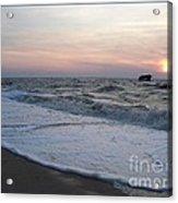 Cape May Sunset Beach Nj Acrylic Print