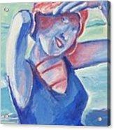Cape May1920s Bathing Beauty Acrylic Print