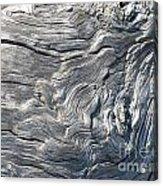 Cape Meares Driftwood Grain 001 Acrylic Print
