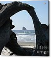 Cape Meares Framed Acrylic Print