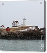 Cape Neddick - Nubble Light 2 Acrylic Print