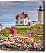 Cape Neddick Nubble Lighthouse II Acrylic Print