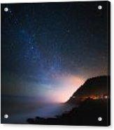 Cape Perpetua Celestial Skies Acrylic Print