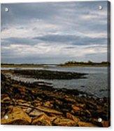 Cape Porpoise Maine - After The Rain Acrylic Print by Bob Orsillo