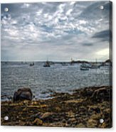 Cape Porpoise Maine - In The Evening Acrylic Print