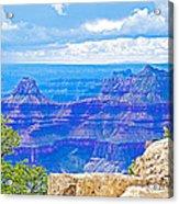 Cape Royal Blue On North Rim Of Grand Canyon-arizona Acrylic Print