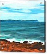 Cape Spear Shoreline Acrylic Print