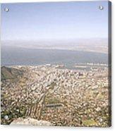 Cape Town Panoramic Acrylic Print