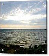 Cape Zampa Sunset Acrylic Print