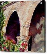 Capistrano Arches Acrylic Print