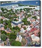 Capital City Of Maryland Acrylic Print