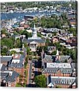 Capital Of Maryland In Annapolis Acrylic Print