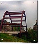 Capital Of Texas Bridge Acrylic Print