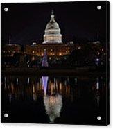 Capitol Christmas - 2012 Acrylic Print