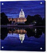 Capitol Morning Acrylic Print