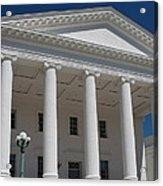 Capitol Pillars - Richmond Acrylic Print