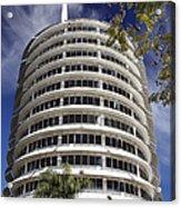 Capitol Records Building 2 Acrylic Print