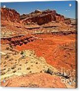 Capitol Reef Colorful Landscape Acrylic Print