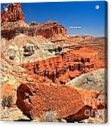 Capitol Reef Waterpocket Fold Acrylic Print