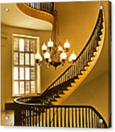 2 - Capitol Staircase - Montgomery Alabama Acrylic Print