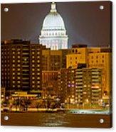 Capitol - Madison - Wisconsin Acrylic Print