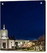 Capitol Twilight Acrylic Print