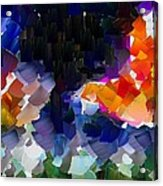 Capixart Abstract 119 Acrylic Print by Chris Axford