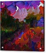Capixart Abstract 75 Acrylic Print by Chris Axford