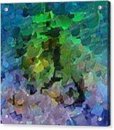 Capixart Abstract 95 Acrylic Print by Chris Axford