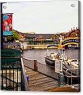 Cap'n Jacks Marina Harbor Walt Disney World Acrylic Print