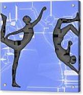Capoeira 2 Acrylic Print