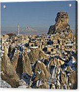 Cappadocia In Winter Acrylic Print