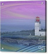 Capricious Lighthouse... Acrylic Print