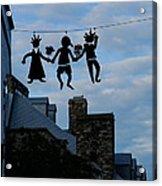 Capricious Quebec City Canada Acrylic Print