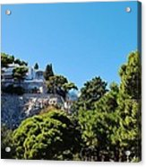 Capri's Gardens Acrylic Print