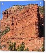Caprock Canyon 2 Acrylic Print
