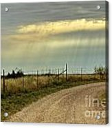 Caprock Canyon-country Road Acrylic Print