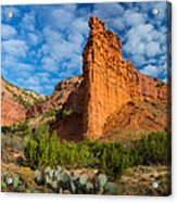 Caprock Canyon Rim Acrylic Print