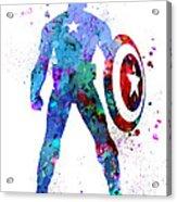 Captain America 2 Acrylic Print