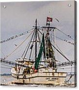 Captain Andrew Acrylic Print