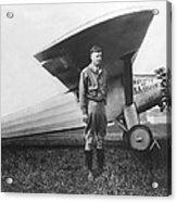 Captain Charles Lindbergh Acrylic Print